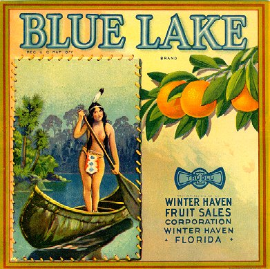 BLUE LAKE - Winter Haven Fruit Sales - Winter Haven
